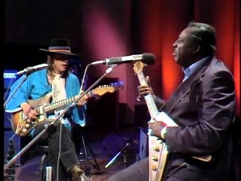 Albert King and Stevie Ray Vaughan