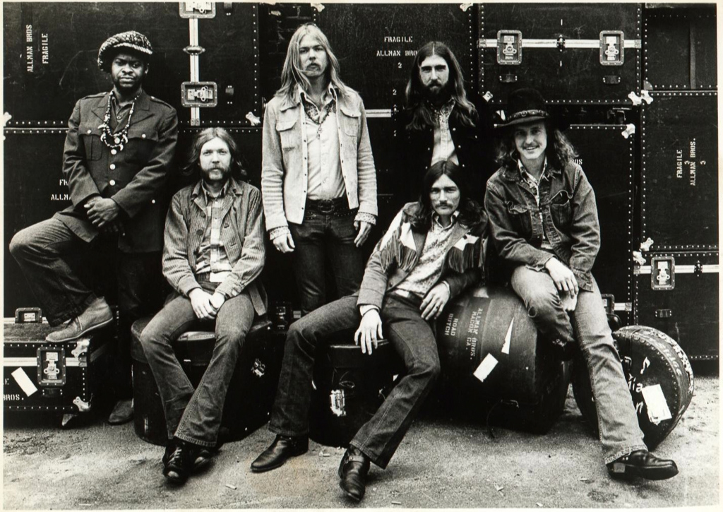 The Allman Brothers Band in 1969