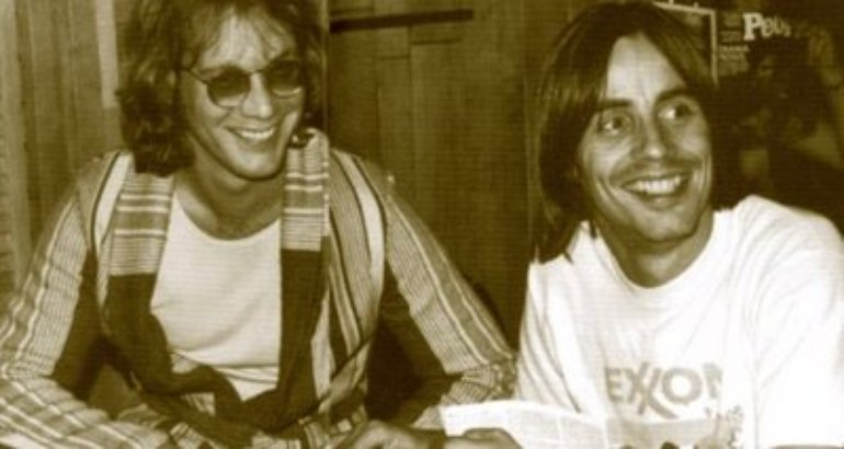 Jackson Browne and Warren Zevon