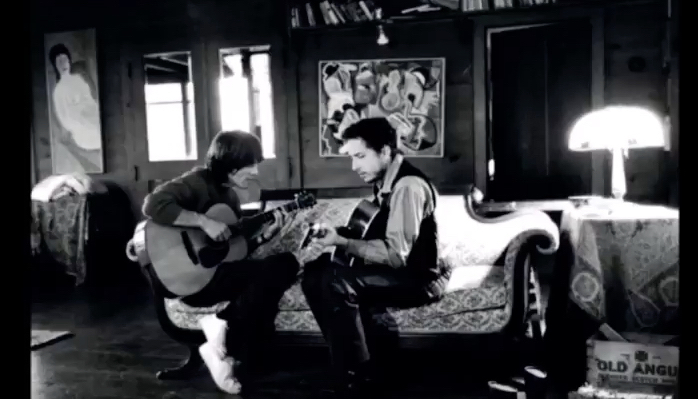 Bob Dylan and George Harrison