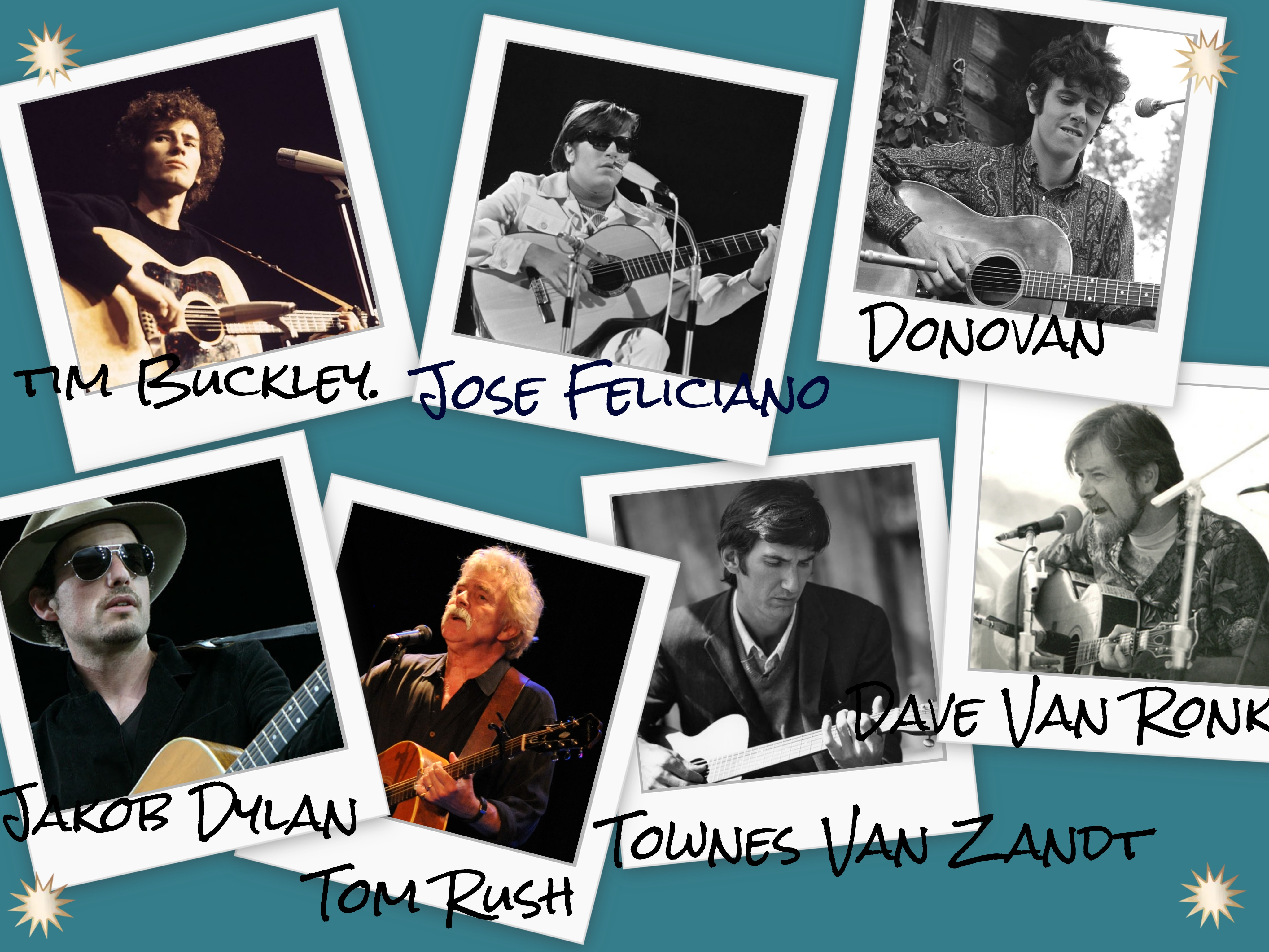 Folk Music Collage