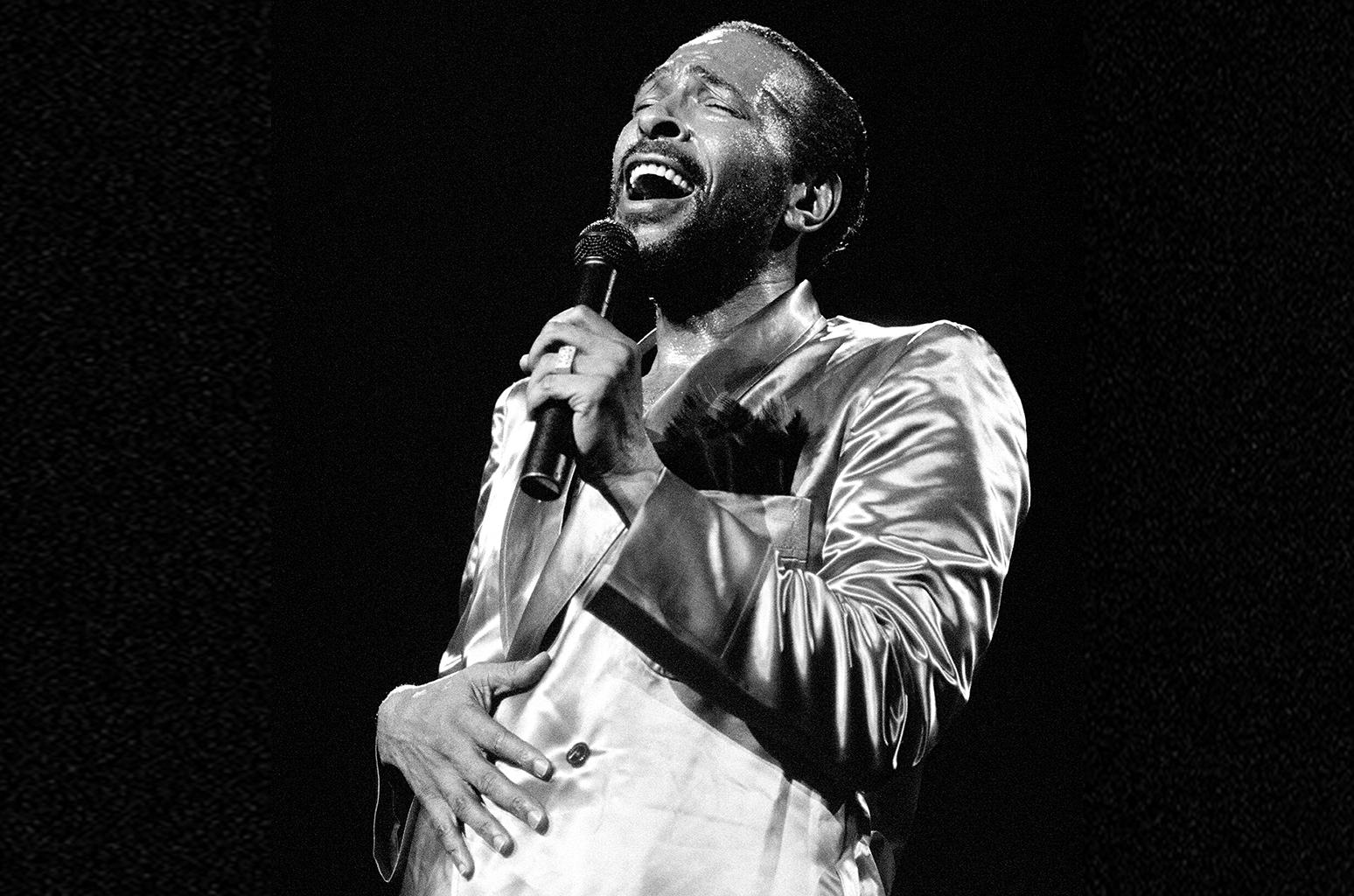 Marvin Gaye At Radio City Music Hall