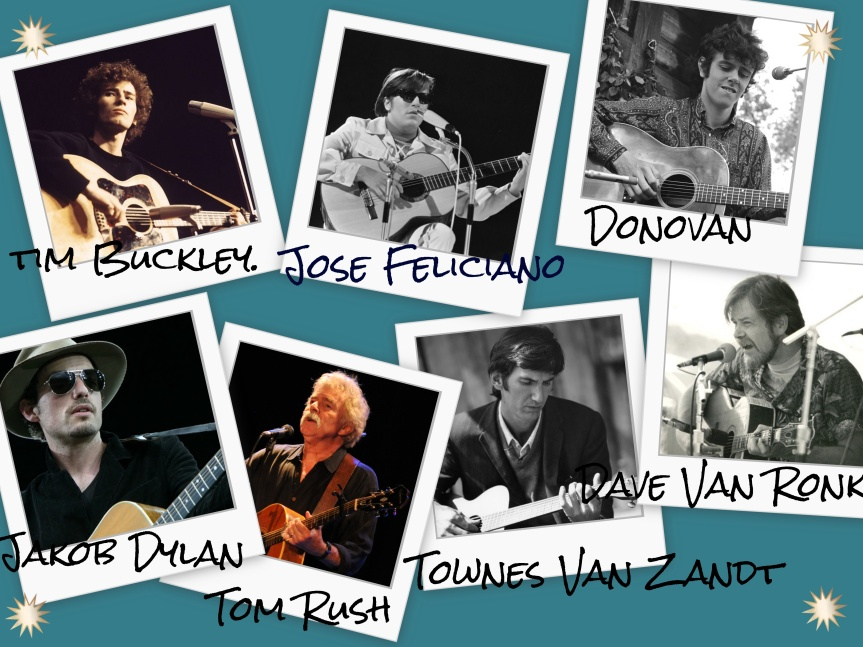 Folk Music Collage