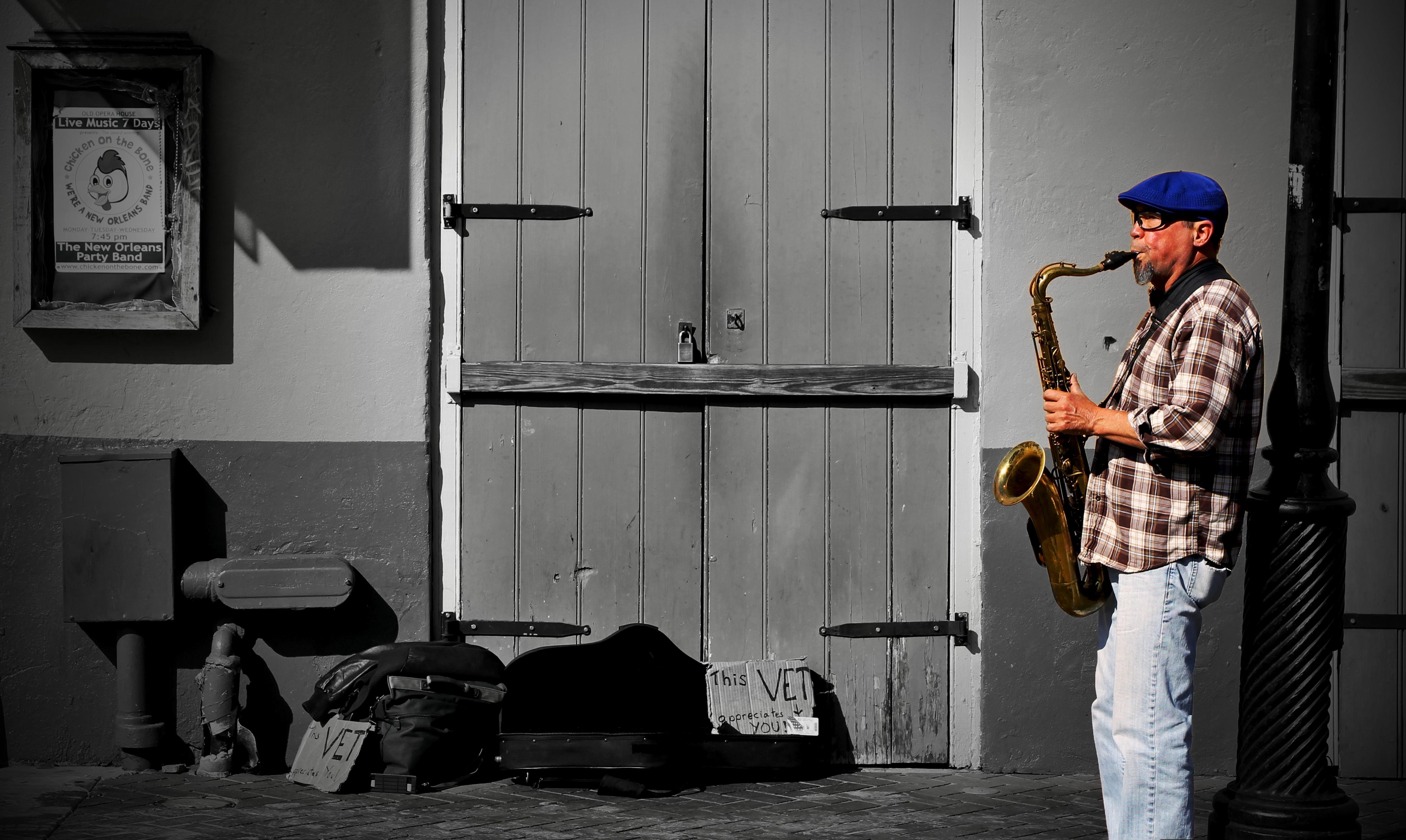 Street Musician 1 HDRI