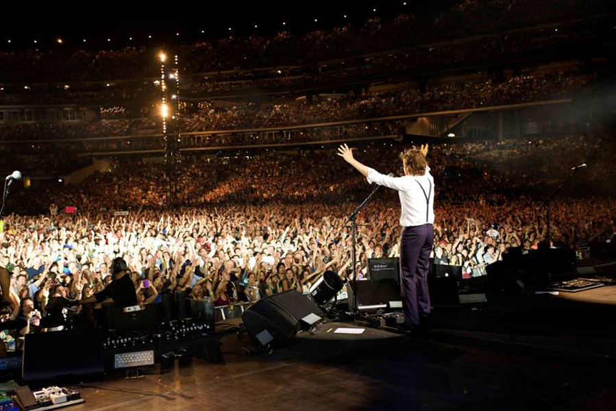 mccartney live from NYC