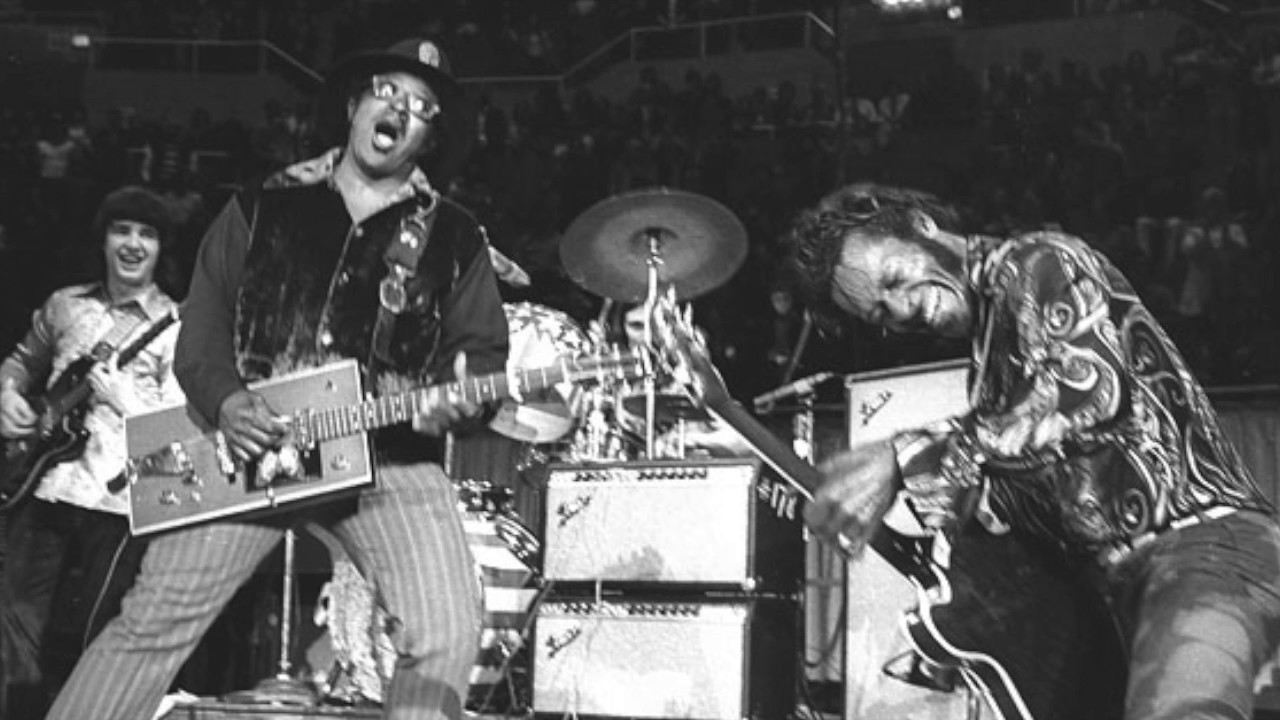 Chuck Berry-Bo Diddley On Stage