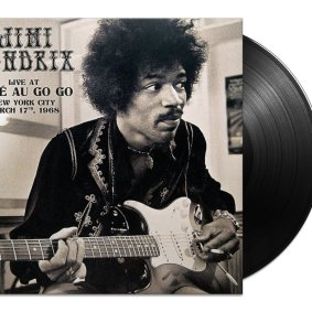 Jimi Hendrix Live at the Cafe Au Go Go