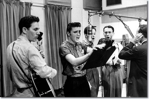Elvis Nashvlle Sessions 1956