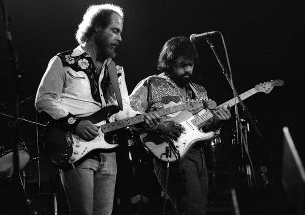 Little Feat on stage