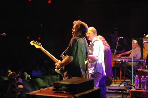 Allman Bros with Eric Clapton
