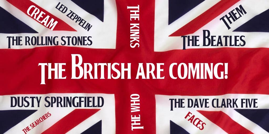 The British Are Coming!-Twitter