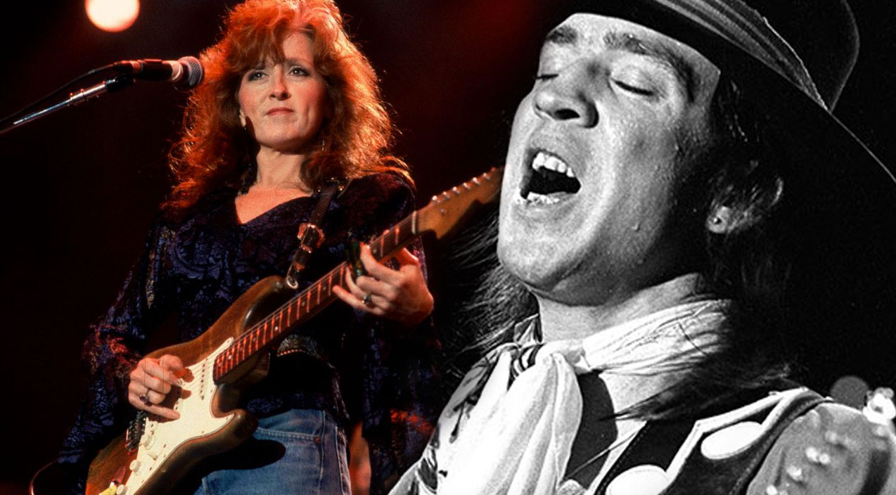 Stevie Ray Vaughan & Bonnie Raitt-2-